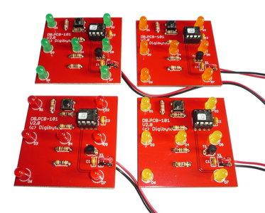 LED dobbelsteen Bouwpakket V2.0